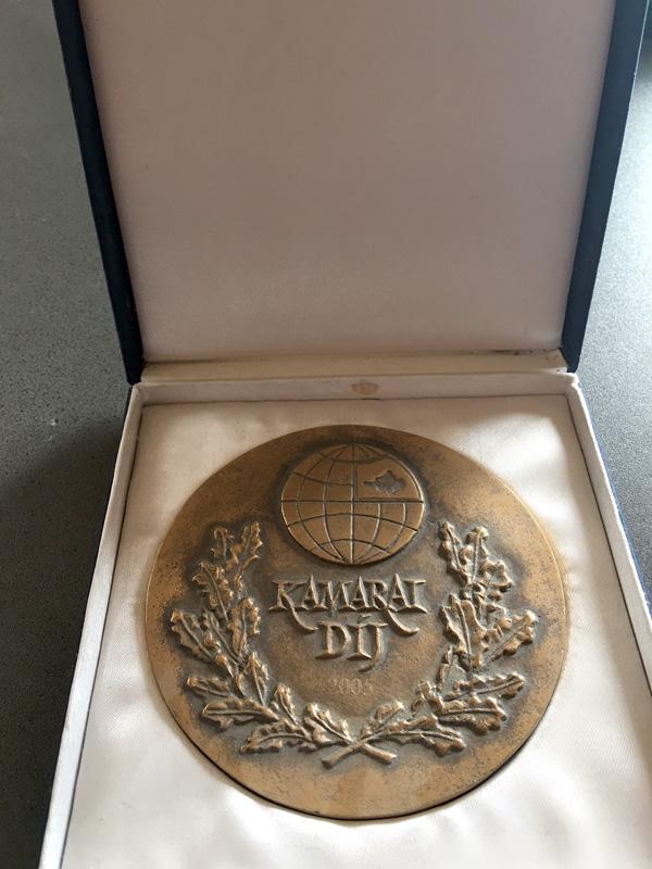 Év ipari vállalkozása díj 2005