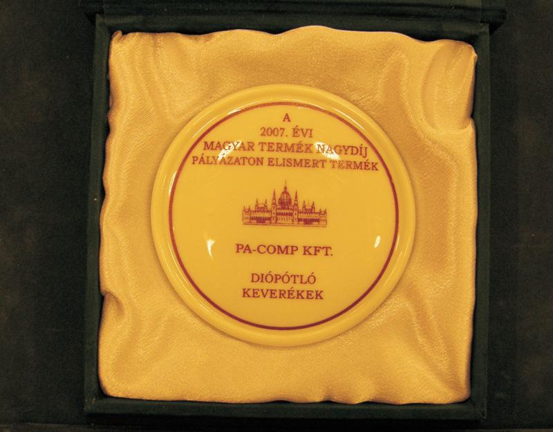 Magyar Termék - Elismert termék díj 2007