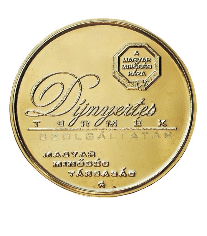 Magyar Minőség Háza díj 2007