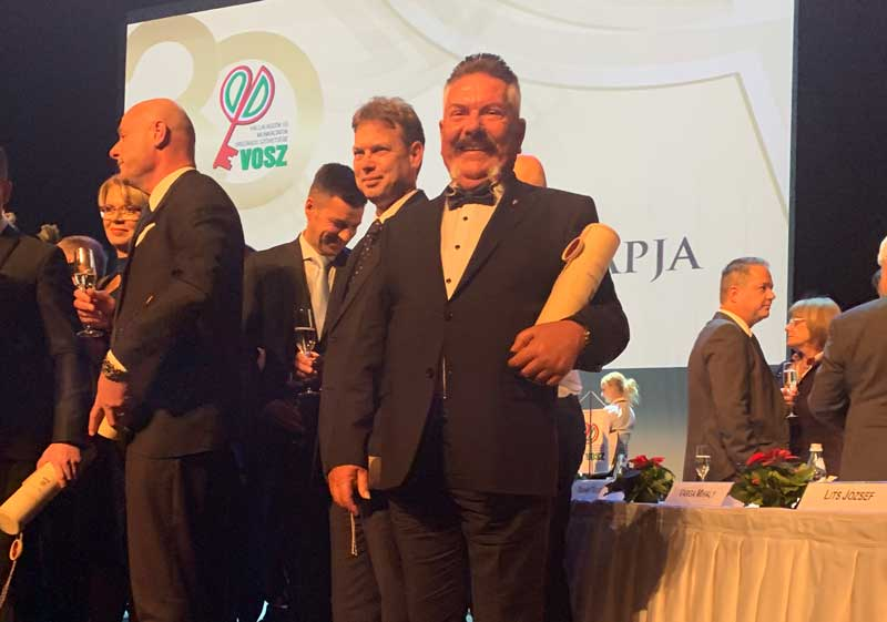 Gratulálunk Papp Sándor Dezsőnek, aki az Év Vállalkozója lett 2018-ban