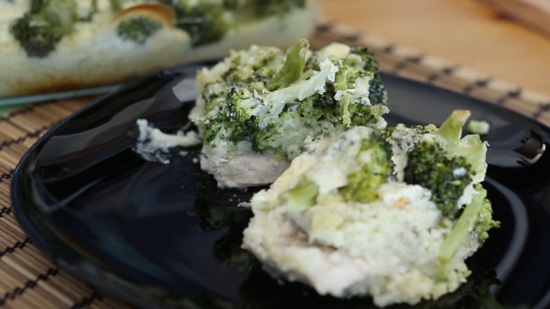 Brokkolis hús - videóval