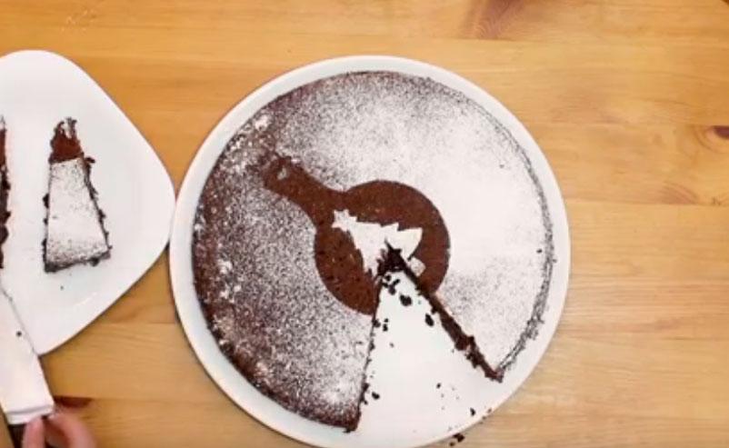 Mézes-diópótlós brownie - videóval